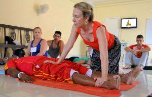 Jill Arcaro Cursos de Masaje Tailandnés