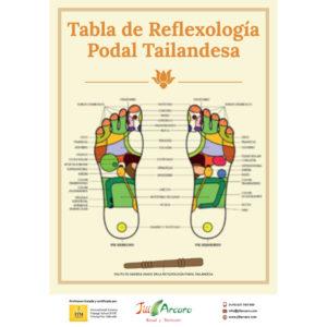 cartel reflexología podal