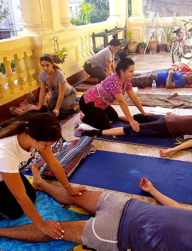 Masaje Tailandés - Curso Jill Arcaro